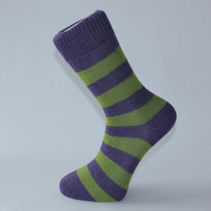 Alpaca Stripy Luxury Socks
