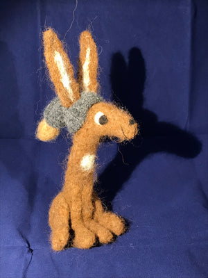 Titch Hare with Slouchy Hat [Lou Stock #134]