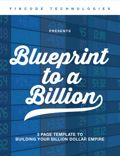 Blueprint To A Billion-cover