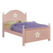 Floresville Pink (White Flower) Twin Bed image