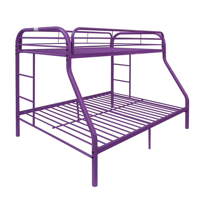 Tritan Purple Bunk Bed (Twin/Full) image