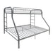 Tritan Silver Bunk Bed (Twin/Full) image