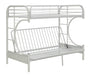 Eclipse White Bunk Bed (Twin XL/Queen/Futon) image