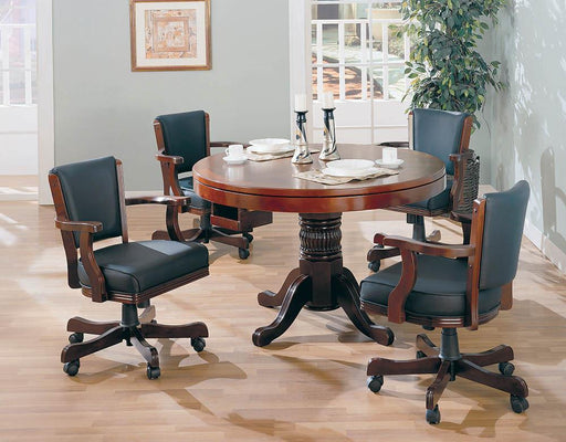 Mitchell Traditional Merlot Game Chair image
