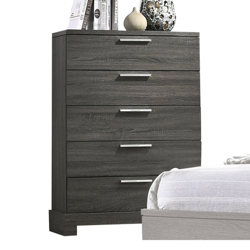 Lantha Gray Oak Chest image