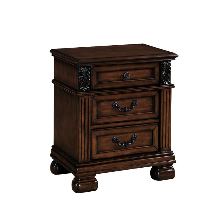 Manfred Dark Walnut Nightstand image