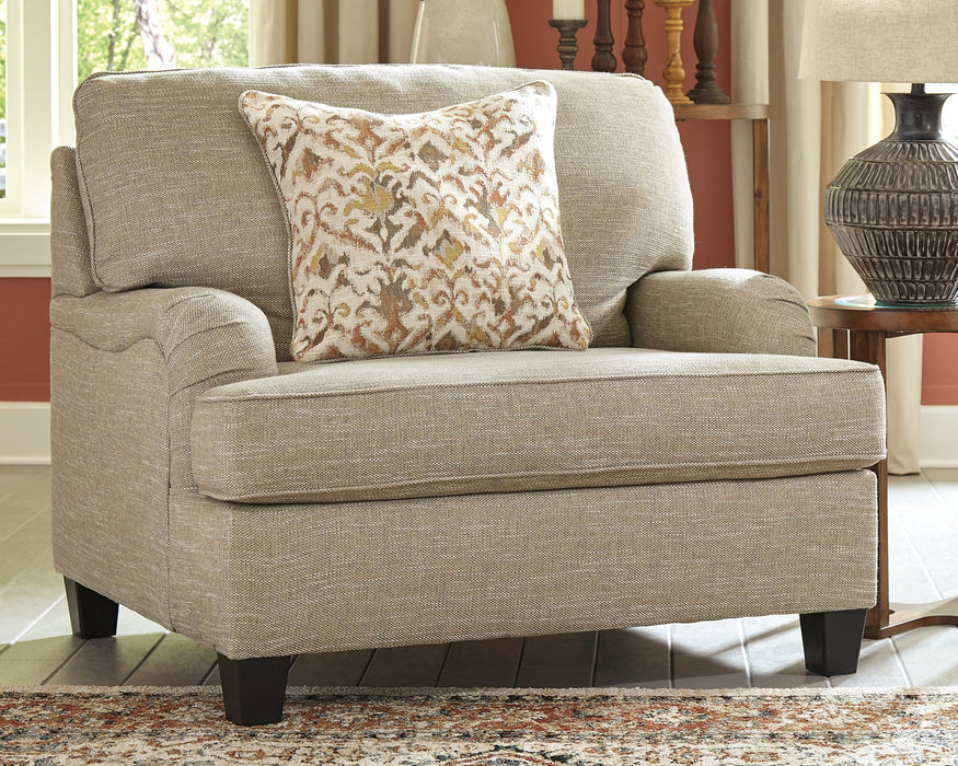 Almanza Signature Design by Ashley Chair and a Half image