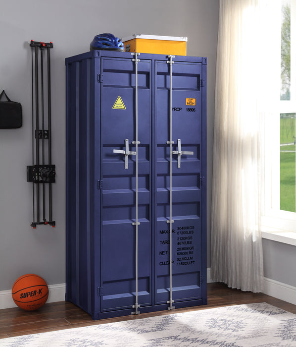 Cargo Blue Wardrobe (Double Door) image