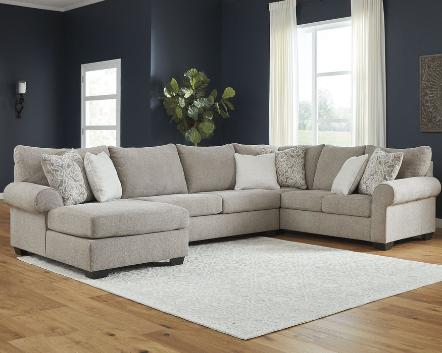 Baranello Benchcraft 3-Piece Sectional with Chaise image