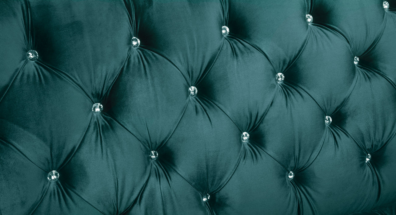 Iberis Green Velvet Sofa image