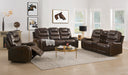 Braylon Brown PU Sofa (Motion) image