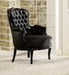 Cain Black Accent Chair image
