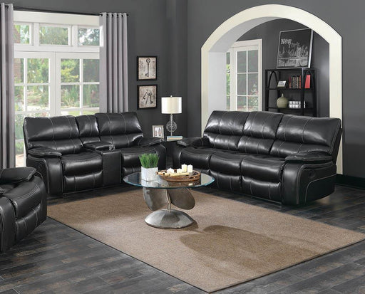 Willemse Dark Brown Reclining Two-Piece Living Room Set image