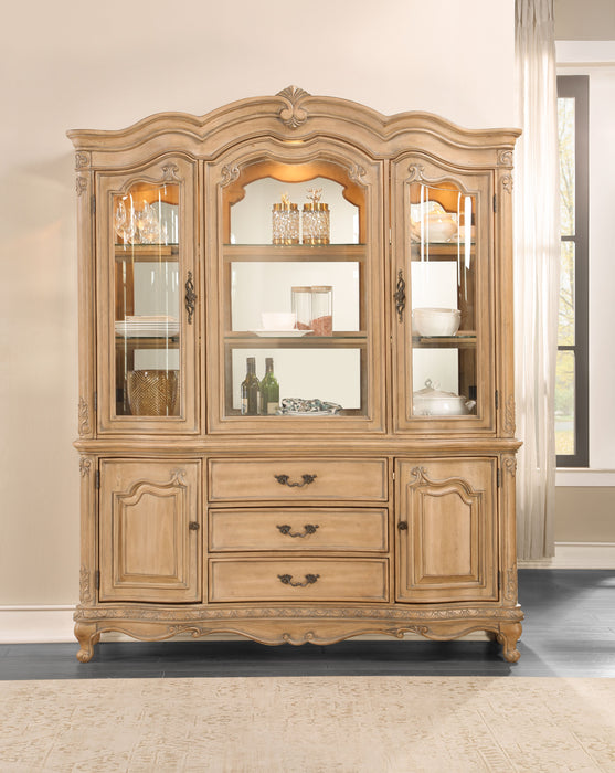Teagan Oak Hutch & Buffet image