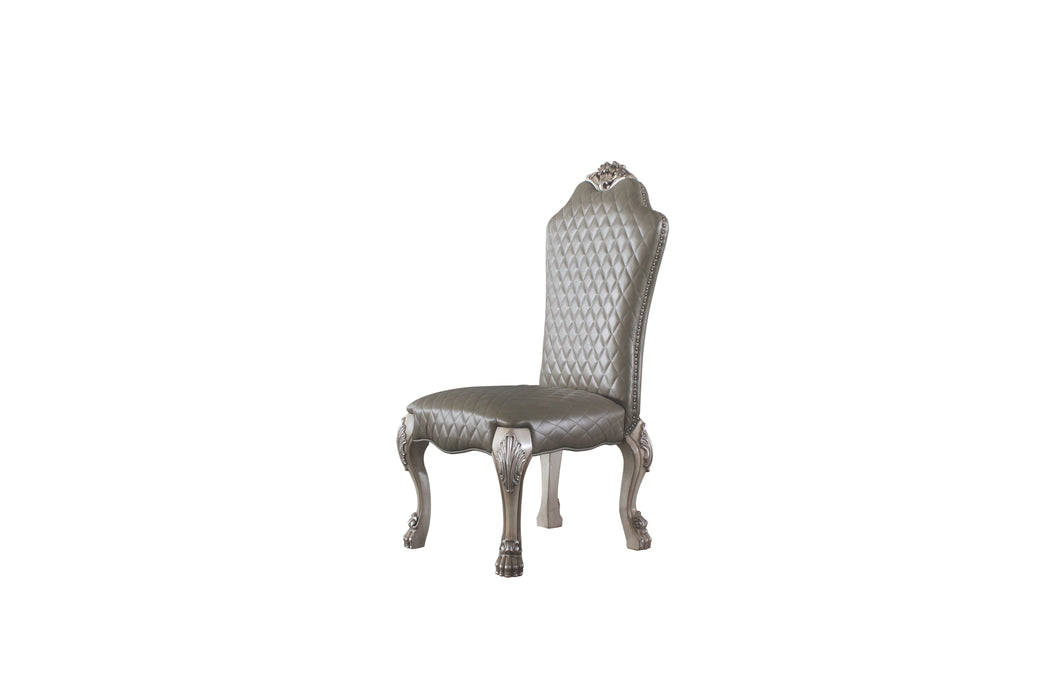 Dresden Vintage Bone White & PU Side Chair image