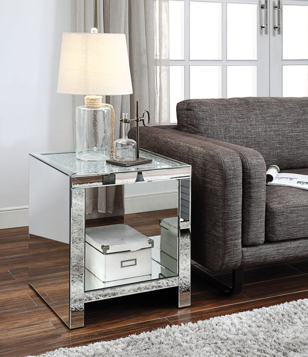 Malish Mirrored End Table image