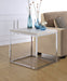 Snyder Chrome End Table image