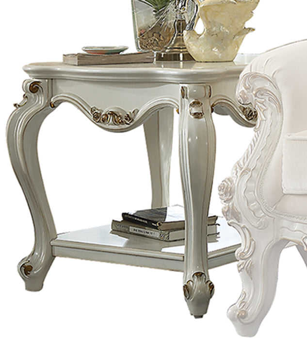 Picardy Antique Pearl End Table image