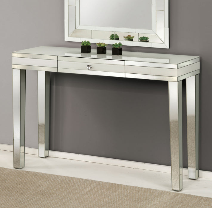 Nerissa Mirrored Console Table image