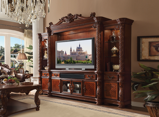 Vendome II Cherry Entertainment Center (Side Piers & Bridge) image