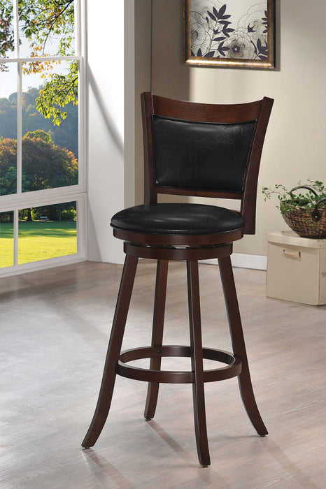 Tabib PU & Cappuccino Bar Chair (1Pc) image