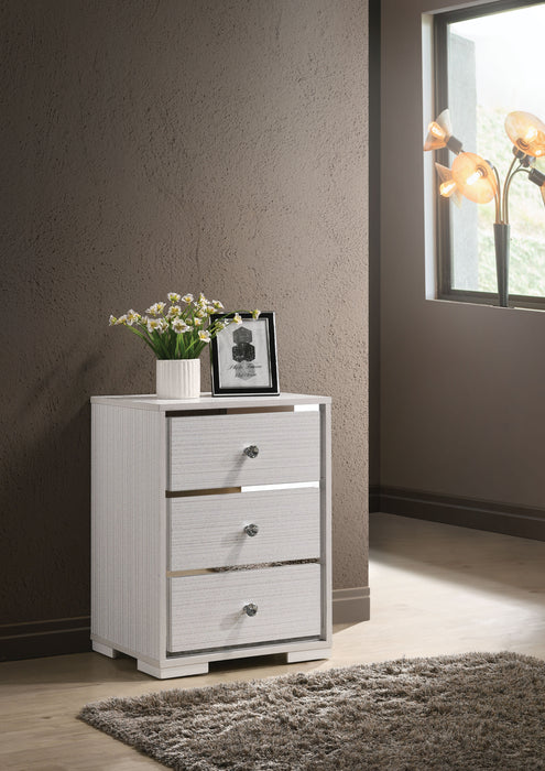 Sakura Cream Accent Table image