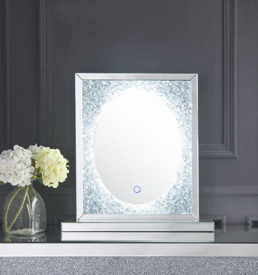 Noralie Mirrored & Faux Diamonds Accent Decor (LED) image