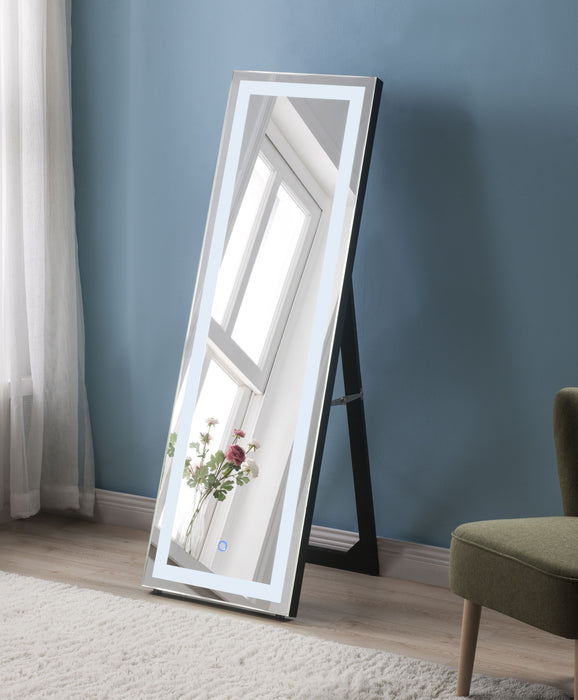 Nyoka Mirrored Floor Mirror (LED) image