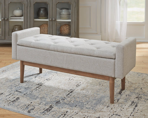 Briarson Signature Design by Ashley Storage Bench image