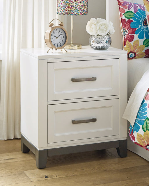 Brynburg Benchcraft Two Drawer Night Stand image