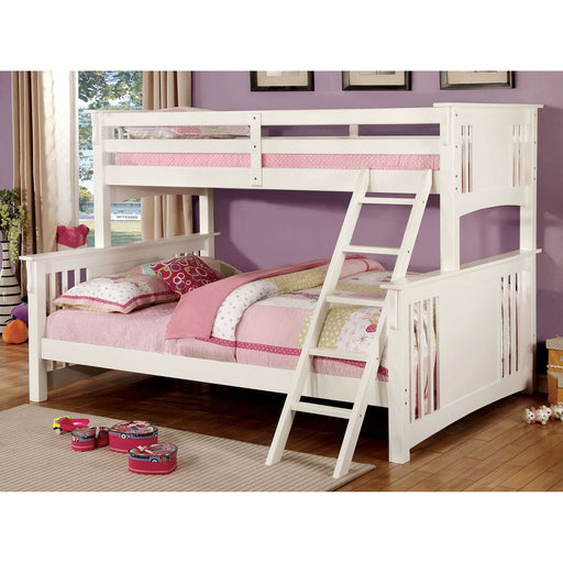 SPRING CREEK White Twin XL/Queen Bunk Bed image