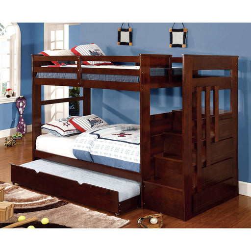 Woodridge Dark Walnut Twin/Twin Bunk Bed image