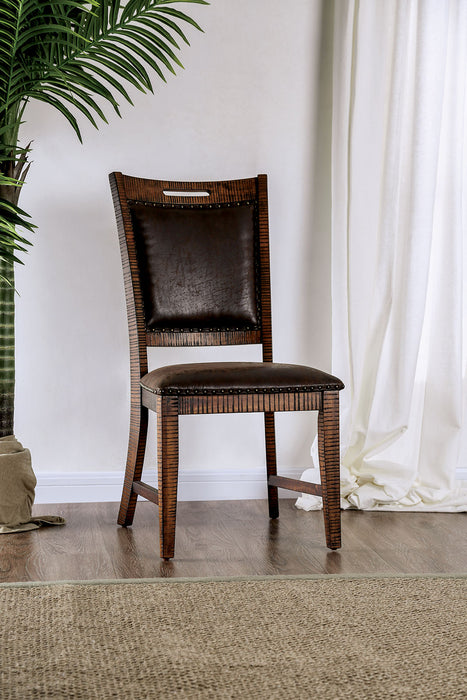 Wichita Light Walnut Side Chair (2/CTN) image