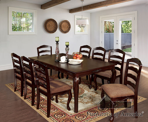 "Townsville Dark Walnut 78"" Dining Table image"