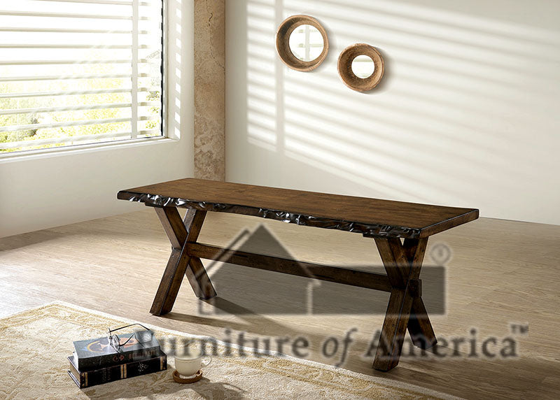Woodworth Walnut Bench image