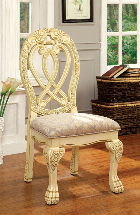 WYNDMERE Vintage White Side Chair (2/CTN) image