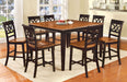 TORRINGTON II Black/Cherry 9 Pc. Dining Table Set image