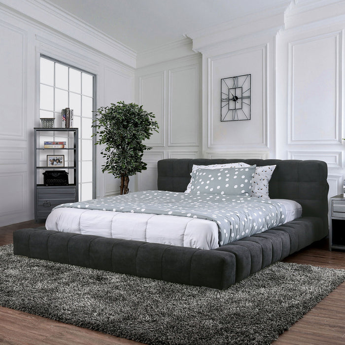 Wolsey Dark Gray Cal.King Bed image