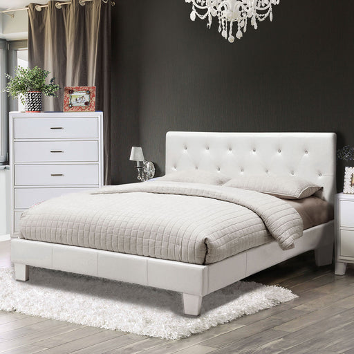 Velen White E.King Bed image
