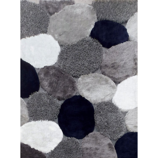 Vancouver Gray/Navy 5' X 7' Area Rug image