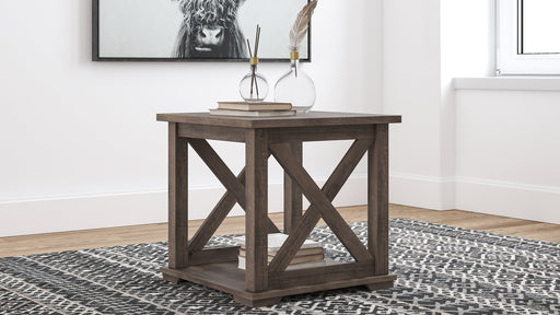 Arlenbry Signature Design by Ashley Square End Table image