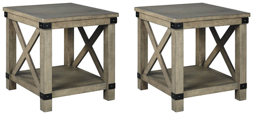 Aldwin Signature Design 2-Piece End Table Set image