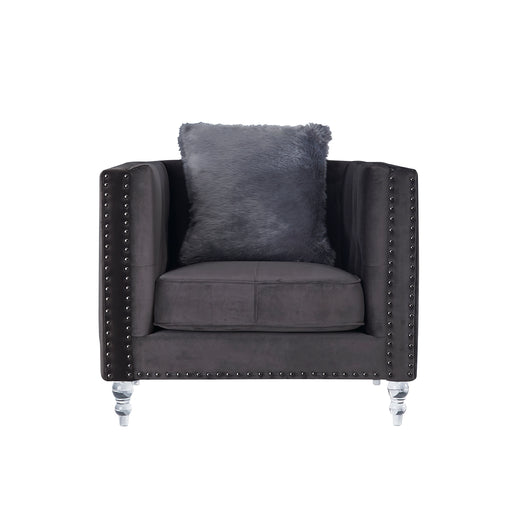 UFM802 CHAIR W/AL & 1 PILLOW (3001-5/ZH8181) DARK GREY (CC-68) / S-006 image