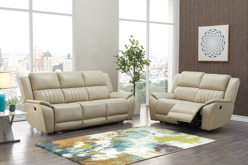 UM015 POWER RECLINING LOVESEAT BEIGE (DTP672-43) image