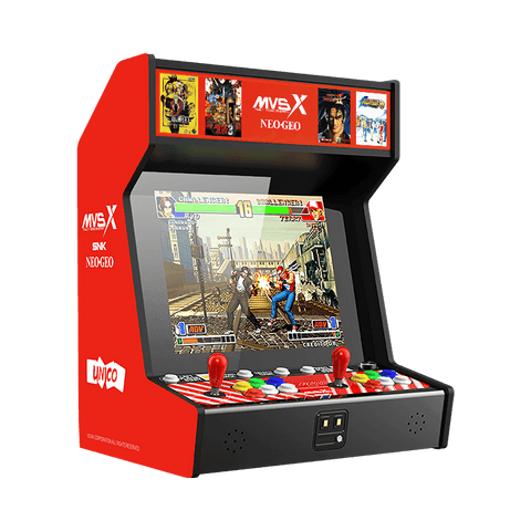 SNK MVSX Counter Top Arcade Machine by Unico