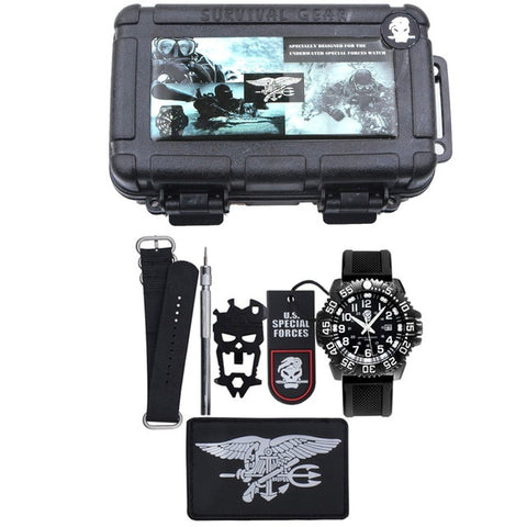 EDC.1991 Survival Watch  Bracelet Waterproof Watches For Men Women