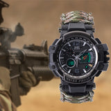 Outdoor Survival Watch Multifunctional Waterproof Military Tactical gear