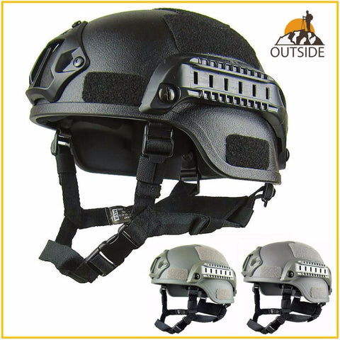 Quality Lightweight FAST Helmet MICH2000 Airsoft MH Tactical Helmet Outdoor TacticalWAT