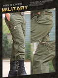 Men's Cargo Pants Army Military Style Tactical Pants Male  Men Camouflage