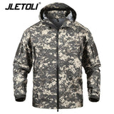 JLETOLI Waterproof Jacket Windbreaker Winter Outdoor Hiking Jacket